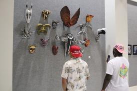 Jym Davis mask wall