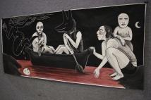Katie Rita painting